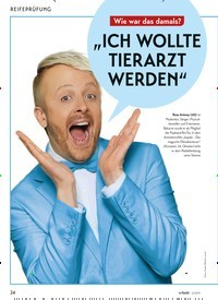 """Titelbild der Ausgabe 5/2019 von REIFEPRÜFUNG: """"ICH WOLLTE TIERARZT WERDEN"""". Zeitschriften als Abo oder epaper bei United Kiosk online kaufen."""