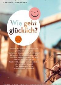 Titelbild der Ausgabe 3/2020 von Wie geht glücklich. Zeitschriften als Abo oder epaper bei United Kiosk online kaufen.