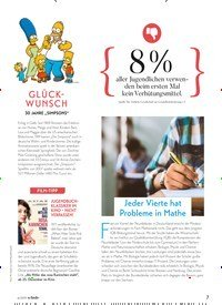 Titelbild der Ausgabe 6/2019 von Jeder Vierte hat Probleme in Mathe. Zeitschriften als Abo oder epaper bei United Kiosk online kaufen.
