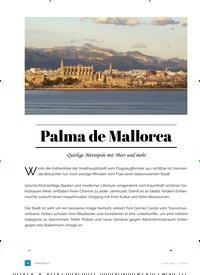 Titelbild der Ausgabe 2/2018 von Palma de Mallorca. Zeitschriften als Abo oder epaper bei United Kiosk online kaufen.