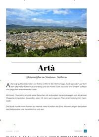 Titelbild der Ausgabe 2/2018 von Artà. Zeitschriften als Abo oder epaper bei United Kiosk online kaufen.