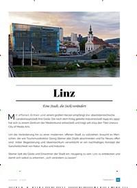 Titelbild der Ausgabe 2/2018 von Linz. Zeitschriften als Abo oder epaper bei United Kiosk online kaufen.