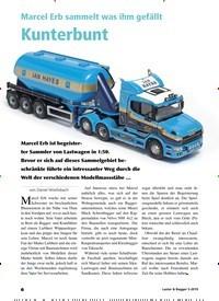 Titelbild der Ausgabe 5/2019 von Marcel Erb sammelt was ihm gefällt: Kunterbunt. Zeitschriften als Abo oder epaper bei United Kiosk online kaufen.