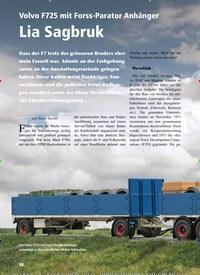 Titelbild der Ausgabe 5/2019 von Volvo F725 mit Forss-Parator Anhänger Lia Sagbruk. Zeitschriften als Abo oder epaper bei United Kiosk online kaufen.