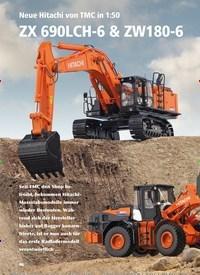 Titelbild der Ausgabe 5/2019 von Neue Hitachi von TMC in 1:50 ZX 690LCH-6 & ZW180-6. Zeitschriften als Abo oder epaper bei United Kiosk online kaufen.
