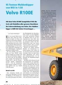 Titelbild der Ausgabe 5/2019 von 95 Tonnen Muldenkipper von WSI in 1:50 Volvo R100E. Zeitschriften als Abo oder epaper bei United Kiosk online kaufen.