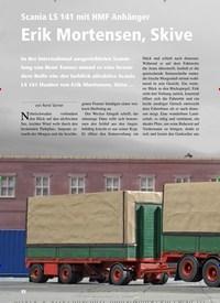 Titelbild der Ausgabe 6/2019 von Scania LS 141 mit HMF Anhänger: Erik Mortensen, Skive. Zeitschriften als Abo oder epaper bei United Kiosk online kaufen.