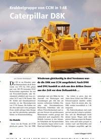 Titelbild der Ausgabe 6/2019 von Krabbelgruppe von CCM in 1:48: Caterpillar D8K. Zeitschriften als Abo oder epaper bei United Kiosk online kaufen.