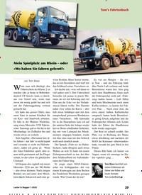 Titelbild der Ausgabe 1/2020 von Tom's Fahrtenbuch. Zeitschriften als Abo oder epaper bei United Kiosk online kaufen.