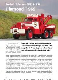 Titelbild der Ausgabe 2/2020 von Unter der Lupe: Geschichtliches von GMTS in 1:50 Diamond T 969. Zeitschriften als Abo oder epaper bei United Kiosk online kaufen.