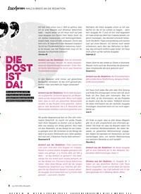 Titelbild der Ausgabe 6/2018 von LESERFORUM MAILS & BRIEFE AN DIE REDAKTION: DIE POST IST DA!. Zeitschriften als Abo oder epaper bei United Kiosk online kaufen.