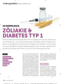 Titelbild der Ausgabe 6/2018 von ZÖLIAKIE & DIABETES TYP 1: IM DOPPELPACK: ZÖLIAKIE & DIABETES TYP 1. Zeitschriften als Abo oder epaper bei United Kiosk online kaufen.