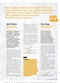 Titelbild der Ausgabe 8/2019 von Jerk Chicken: Jamaikanisches Hähnchen mit Reis. Zeitschriften als Abo oder epaper bei United Kiosk online kaufen.