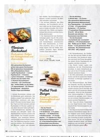 Titelbild der Ausgabe 8/2019 von Mexican Buckwheat: Buchweizen-Bulgur mit Kidneybohnen und Avocadodip. Zeitschriften als Abo oder epaper bei United Kiosk online kaufen.