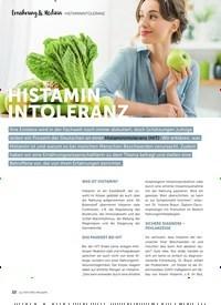 Titelbild der Ausgabe 15/2021 von Ernährung & Medizin: HISTAMIN INTOLERANZ. Zeitschriften als Abo oder epaper bei United Kiosk online kaufen.