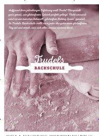Titelbild der Ausgabe 5/2018 von Trudels BACKSCHULE. Zeitschriften als Abo oder epaper bei United Kiosk online kaufen.