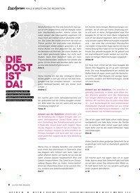 Titelbild der Ausgabe 7/2019 von Leserforum MAILS & BRIEFE AN DIE REDAKTION: DIE POST IST DA!. Zeitschriften als Abo oder epaper bei United Kiosk online kaufen.