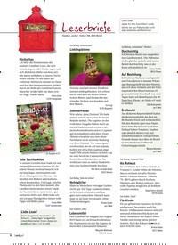 Titelbild der Ausgabe 5/2019 von Leserbriefe. Zeitschriften als Abo oder epaper bei United Kiosk online kaufen.