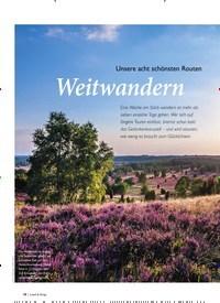 Titelbild der Ausgabe 5/2019 von Unsere acht schönsten Routen: Weitwandern. Zeitschriften als Abo oder epaper bei United Kiosk online kaufen.