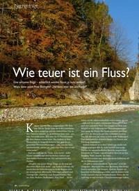 Titelbild der Ausgabe 5/2019 von Nachgefragt: Wie teuer ist ein Fluss?. Zeitschriften als Abo oder epaper bei United Kiosk online kaufen.