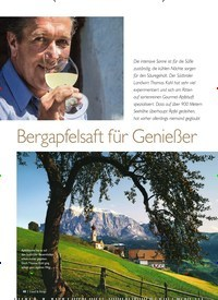 Titelbild der Ausgabe 5/2019 von Bergapfelsaft für Genießer. Zeitschriften als Abo oder epaper bei United Kiosk online kaufen.