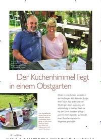 Titelbild der Ausgabe 5/2019 von Der Kuchenhimmel liegt in einem Obstgarten. Zeitschriften als Abo oder epaper bei United Kiosk online kaufen.
