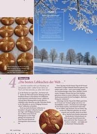 """Titelbild der Ausgabe 6/2019 von 4: Oberpfalz """"Die besten Lebkuchen der Welt …"""". Zeitschriften als Abo oder epaper bei United Kiosk online kaufen."""