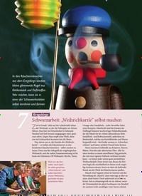"""Titelbild der Ausgabe 6/2019 von 7: Erzgebirge: Schwarzarbeit: """"Weihrichkarzle"""" selbst machen. Zeitschriften als Abo oder epaper bei United Kiosk online kaufen."""