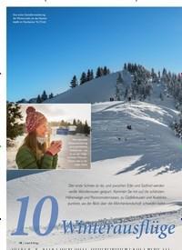 Titelbild der Ausgabe 1/2020 von Winterausflügemit Aussicht. Zeitschriften als Abo oder epaper bei United Kiosk online kaufen.