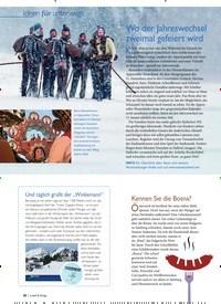 Titelbild der Ausgabe 1/2020 von Ideen für unterwegs: Wo der Jahreswechsel zweimal gefeiert wird. Zeitschriften als Abo oder epaper bei United Kiosk online kaufen.