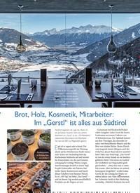 """Titelbild der Ausgabe 1/2020 von Brot, Holz, Kosmetik, Mitarbeiter: Im """"Gerstl"""" ist alles aus Südtirol. Zeitschriften als Abo oder epaper bei United Kiosk online kaufen."""