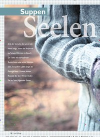 Titelbild der Ausgabe 1/2020 von Suppen: Seelen Warmer. Zeitschriften als Abo oder epaper bei United Kiosk online kaufen.