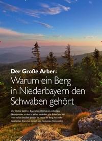 Titelbild der Ausgabe 2/2020 von Der Große Arber: Warum ein Berg in Niederbayern den Schwaben gehört. Zeitschriften als Abo oder epaper bei United Kiosk online kaufen.