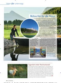 Titelbild der Ausgabe 2/2020 von Bühne frei für die Natur. Zeitschriften als Abo oder epaper bei United Kiosk online kaufen.