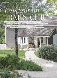 Titelbild der Ausgabe 9/2019 von WOHNEN: Landgut im BARN CHIC. Zeitschriften als Abo oder epaper bei United Kiosk online kaufen.