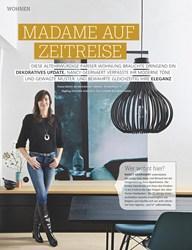 Titelbild der Ausgabe 10/2019 von MADAME AUF ZEITREISE. Zeitschriften als Abo oder epaper bei United Kiosk online kaufen.