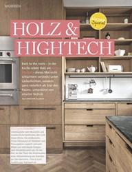 Titelbild der Ausgabe 10/2019 von HOLZ & HIGHTECH. Zeitschriften als Abo oder epaper bei United Kiosk online kaufen.