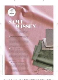 Titelbild der Ausgabe 11/2019 von Apropos: SAMT WISSEN. Zeitschriften als Abo oder epaper bei United Kiosk online kaufen.