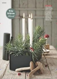 Titelbild der Ausgabe 11/2019 von Wir feiern Advent: Schnell gezaubert. Zeitschriften als Abo oder epaper bei United Kiosk online kaufen.