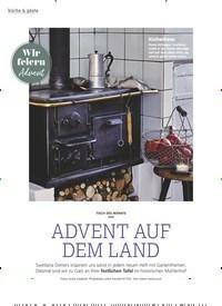 Titelbild der Ausgabe 11/2019 von Wir feiern Advent: TISCH DES MONATS: ADVENT AUF DEM LAND. Zeitschriften als Abo oder epaper bei United Kiosk online kaufen.