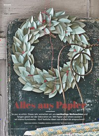 Titelbild der Ausgabe 12/2019 von Alles aus Papier. Zeitschriften als Abo oder epaper bei United Kiosk online kaufen.