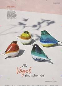 Titelbild der Ausgabe 2/2020 von inspiration: Alle Vögel sind schon da: WERKSTATTBESUCH: Renate von Loewis of Menar. Zeitschriften als Abo oder epaper bei United Kiosk online kaufen.