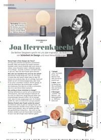 Titelbild der Ausgabe 6/2020 von STUDIOBESUCH: Joa Herrenknecht. Zeitschriften als Abo oder epaper bei United Kiosk online kaufen.