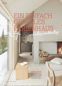 Titelbild der Ausgabe 1/2021 von EIN EINFACH GENIALES FERIENHAUS … und alles nachhaltig. Zeitschriften als Abo oder epaper bei United Kiosk online kaufen.