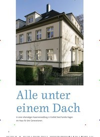 Titelbild der Ausgabe 1/2020 von Alle unter einem Dach. Zeitschriften als Abo oder epaper bei United Kiosk online kaufen.