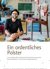 Titelbild der Ausgabe 1/2020 von Ein ordentliches Polster. Zeitschriften als Abo oder epaper bei United Kiosk online kaufen.