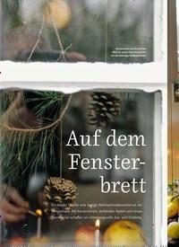 Titelbild der Ausgabe 4/2020 von Auf dem Fenster-brett. Zeitschriften als Abo oder epaper bei United Kiosk online kaufen.