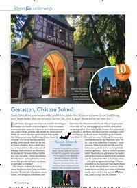 Titelbild der Ausgabe 4/2020 von Gestatten,Château Solms!. Zeitschriften als Abo oder epaper bei United Kiosk online kaufen.