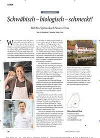 Titelbild der Ausgabe 2/2020 von REGIONALKÜCHE: Schwäbisch - biologisch - schmeckt!. Zeitschriften als Abo oder epaper bei United Kiosk online kaufen.