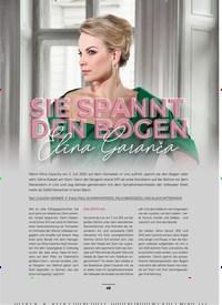 Titelbild der Ausgabe 1/2020 von SIE SPANNT DEN BOGEN: Elina Garanca. Zeitschriften als Abo oder epaper bei United Kiosk online kaufen.